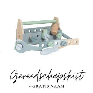 Little Dutch gereedschapskist met naam