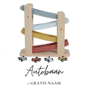 Little Dutch autobaan met naam