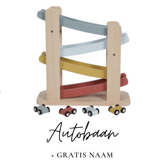 Little Dutch autobaan met naam