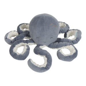 Little Dutch Knuffel Octopus - Ocean Blue
