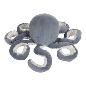 Little Dutch Knuffel Octopus - Ocean Blue