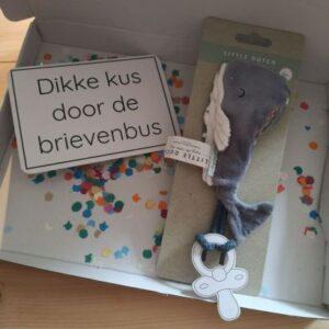 Little Dutch brievenbuscadeautje walvis