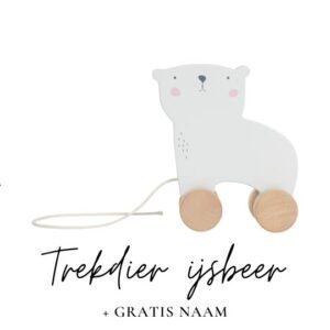 Little Dutch trekdier ijsbeer