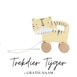 Little Dutch trekdier tijger met naam
