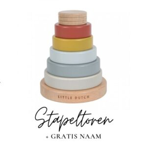 Little Dutch stapeltoren met naam