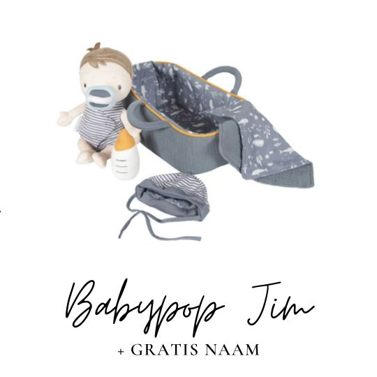 Little Dutch babypop jim met naam