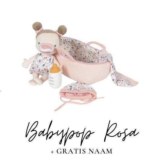 Little Dutch babypop rosa met naam