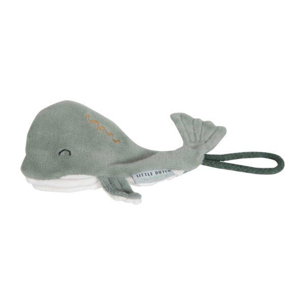 Little Dutch speenkoord walvis Mint