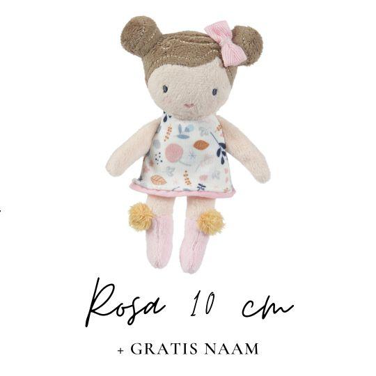 Little Dutch Rosa 10 cm met naam