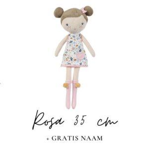 Little Dutch Rosa 35 cm met naam