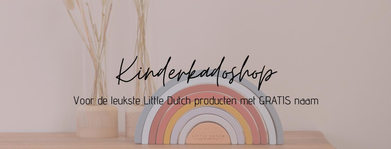 Kinderkadoshop Little Dutch met naam