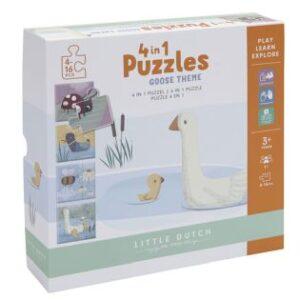 Little Dutch 4 in 1 puzzel