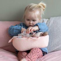 Little Dutch met naam Babypop Rosa