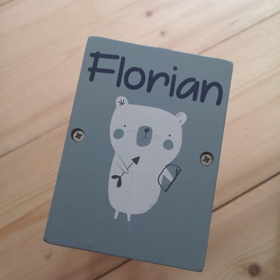 Little Dutch met naam Florian