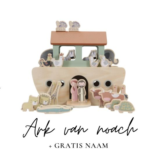 Little Dutch met naam ark van Noach