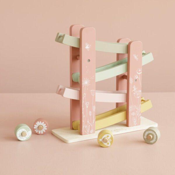 Little Dutch Rollerbaan Bloemenweide roze