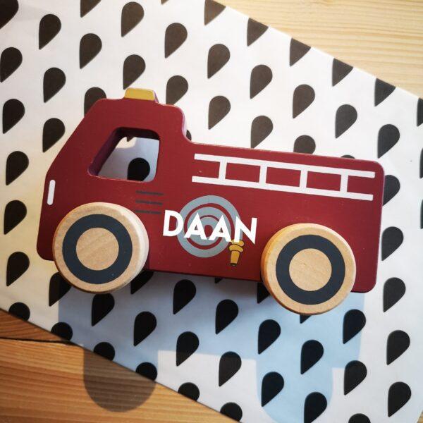 Little Dutch auto met naam