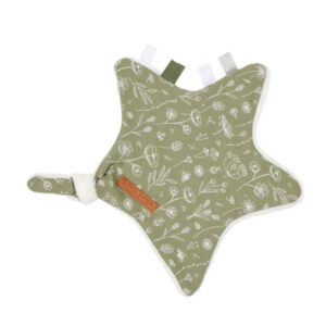 Little Dutch Knuffeldoek - Wild Flowers Olive