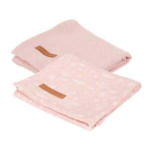 Little Dutch Swaddle doek 70 x 70 - wild flowers Pink