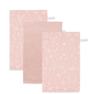 Little Dutch Washand - wild flowers pink