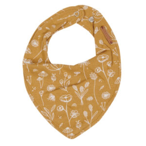 Little Dutch bandana slab - Wild Flowers Ochre