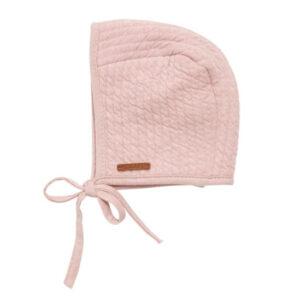 Babymuts met touwtjes Pure Pink