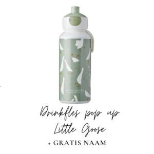 Little Dutch Drinkfles pop-up 400 ml - Little Goose
