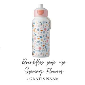 Little Dutch Drinkfles pop-up 400 ml - Spring Flowers
