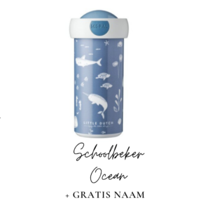 Little Dutch Schoolbeker 300 ml - Ocean