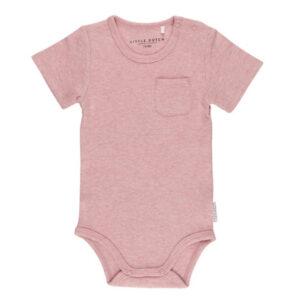 Romper korte mouw 7480 - Pink Melange