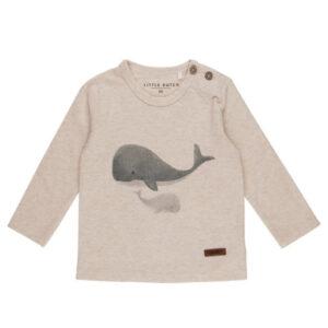 T-Shirt 56 lange mouw walvis - Ocean